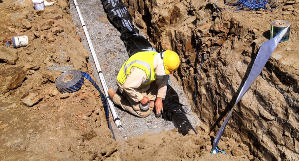 Water and Sanitary Sewer